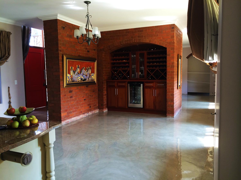 Seamless Cement Floor 1