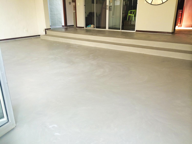 Seamless Cement Floor 2
