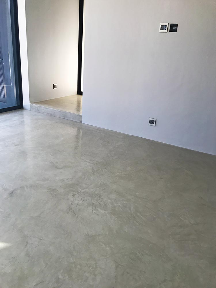 Seamless Cement Floor 6