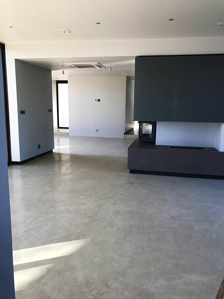Seamless Cement Floor 9