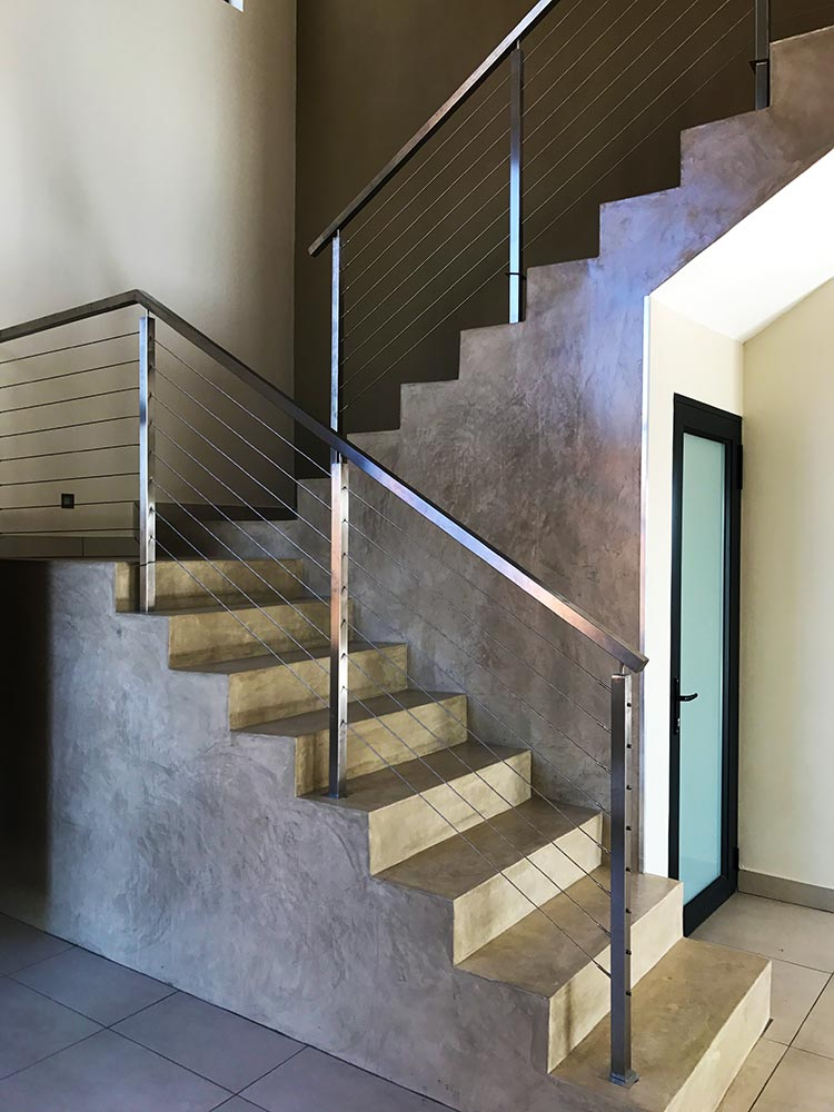 Cement Floor & Stucco Wall 3