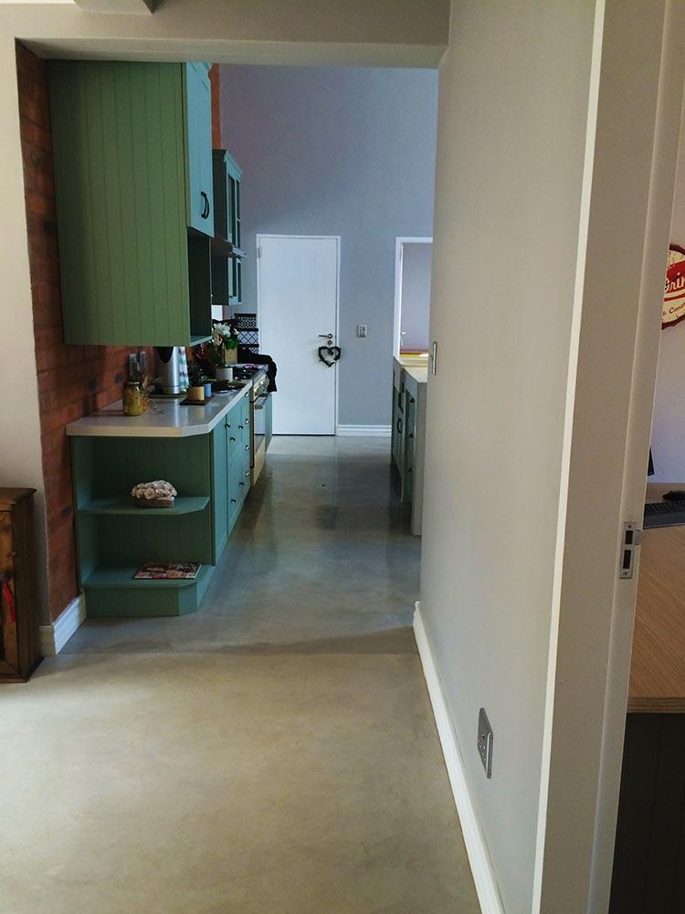 Seamless Cement Floor 12