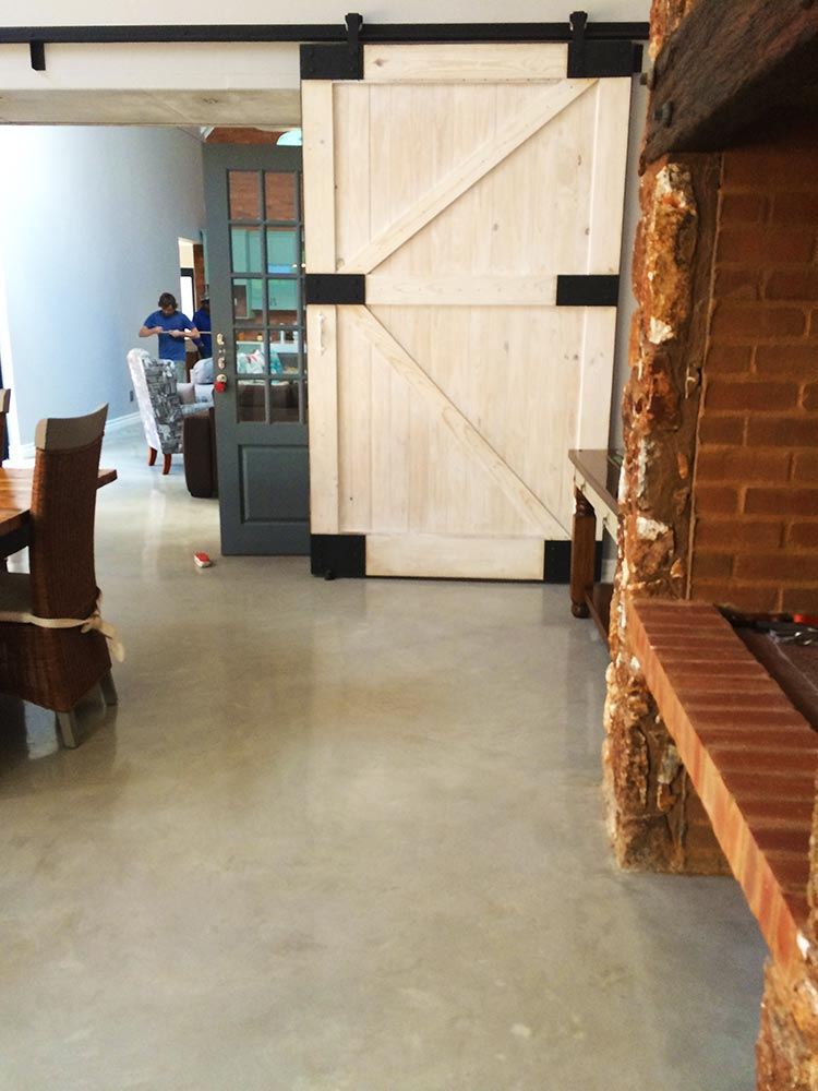 Seamless Cement Floor 15