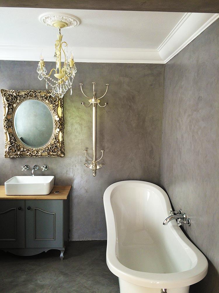 Cement Floor & Stucco Wall 4