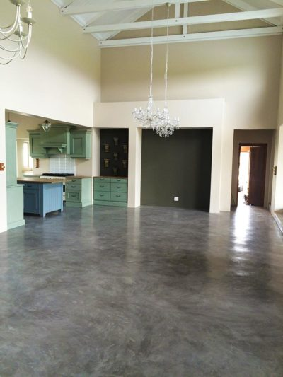 Seamless Cement Floor 17
