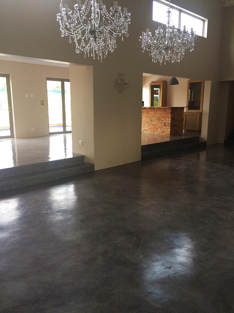 Designer Cement Flooring