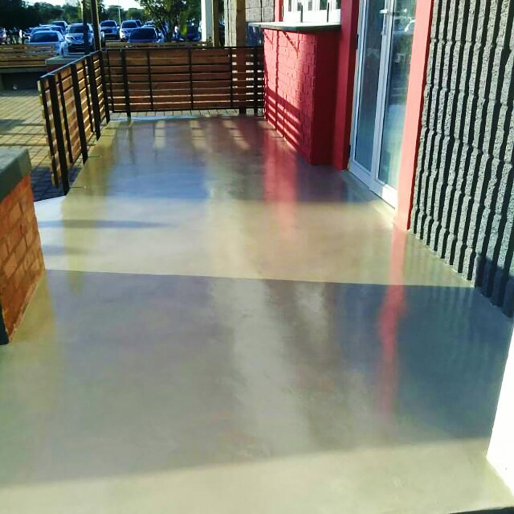 Seamless Cement Floor 21