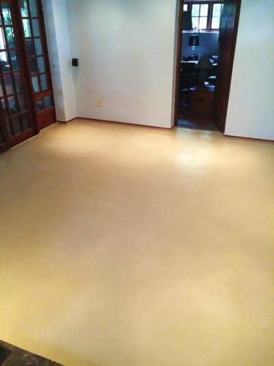 Seamless Cement Floor 24