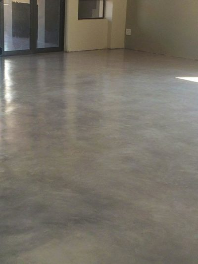 Seamless Cement Floor 26